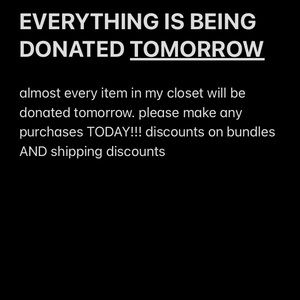 LAST DAY TO MAKE ANY PURCHASES